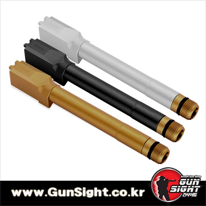 GSI Non Tilting Outer Barrel fo MARUI M&P 9L[색상선택- GOLD/ SILVER/ BLACK]