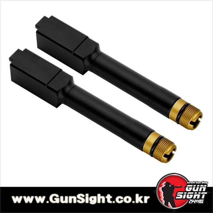 2020 Latest ver. GSI Non Tilting Barrel For GLOCK 19 / 45 [ VFC/ VFC GLOCK 19X/ WE /KJW 글록/ EMG 글록]