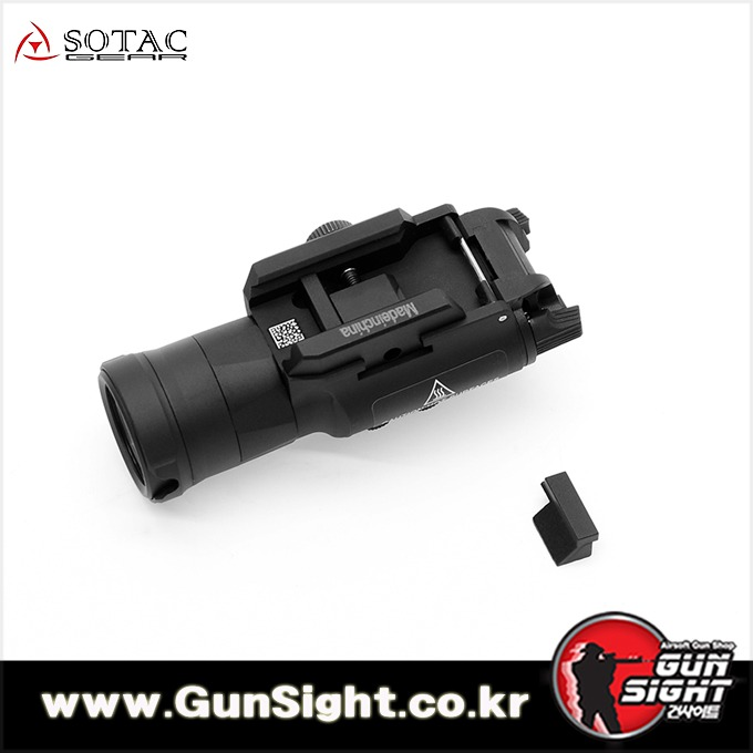 [레플리카] SF XH-35 Tactical Flashlight [BK]