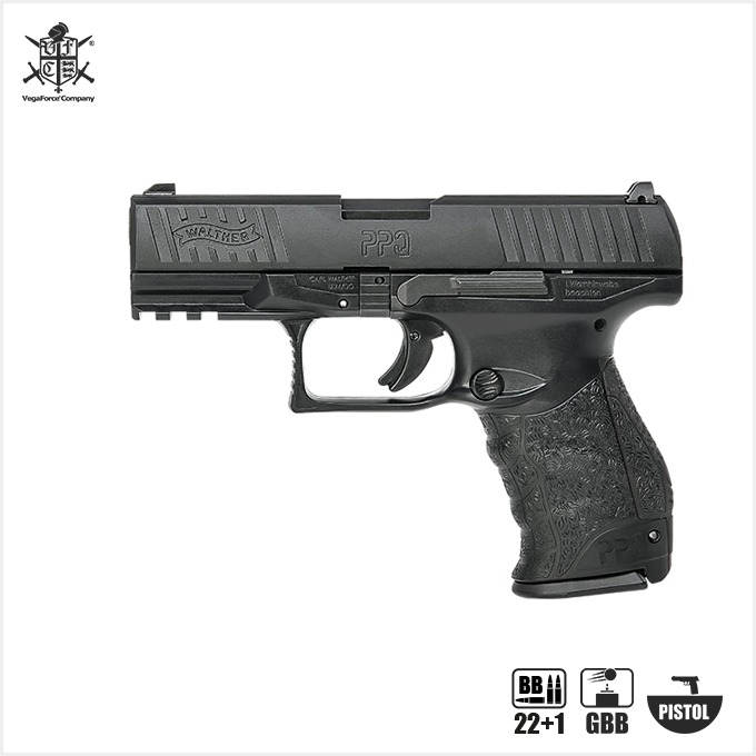 UMAREX PPQ M2 Special Kit (Walther Licensed) 핸드건 [Full Steel Ver.]