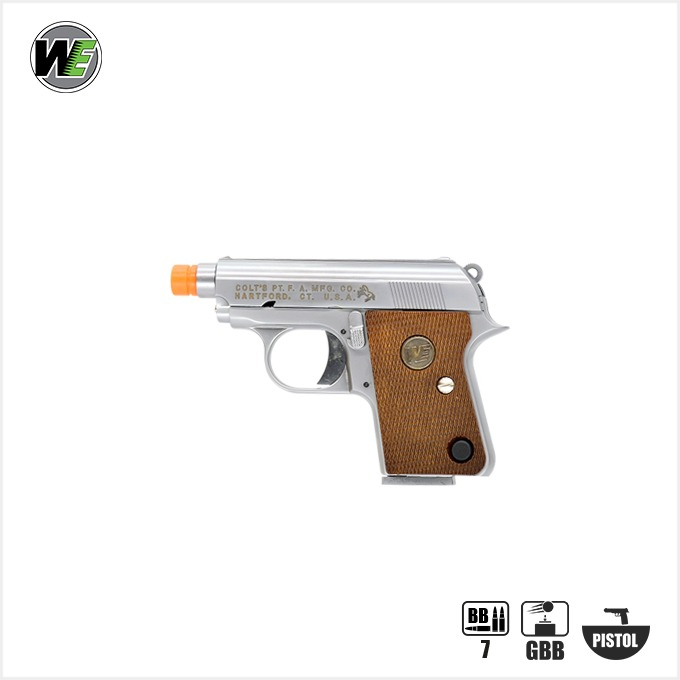 WE Colt25 Silver