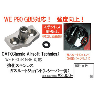 CAT WE P90 GBB Parts