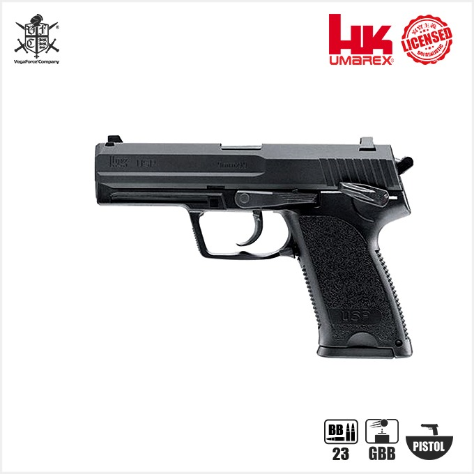 Umarex HK USP 9mm Gas Blowback Pistol  핸드건 - 풀메탈