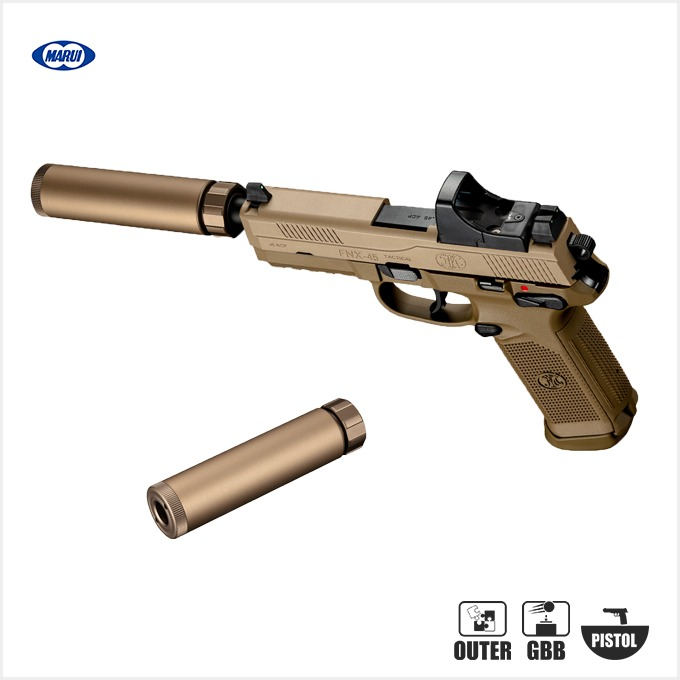 MARUI FNX-45 Tactical Silencer (FDE)