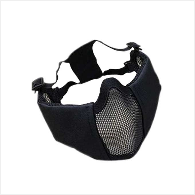 [WST]Tactical Elite Mask (Ear Protection Version)_BK