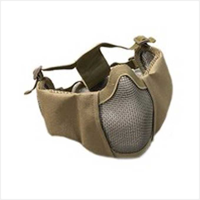 [WST]Tactical Elite Mask (Ear Protection Version)_Tan
